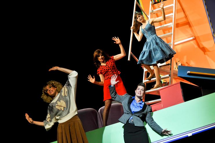 Hans Otto Theater, 2013/2014<br>Copyright: Hans Otto Theater; Foto: HL B&ouml;hme<br>Mit: Christiane Hagedorn, Meike Fink, Patrizia Carlucci