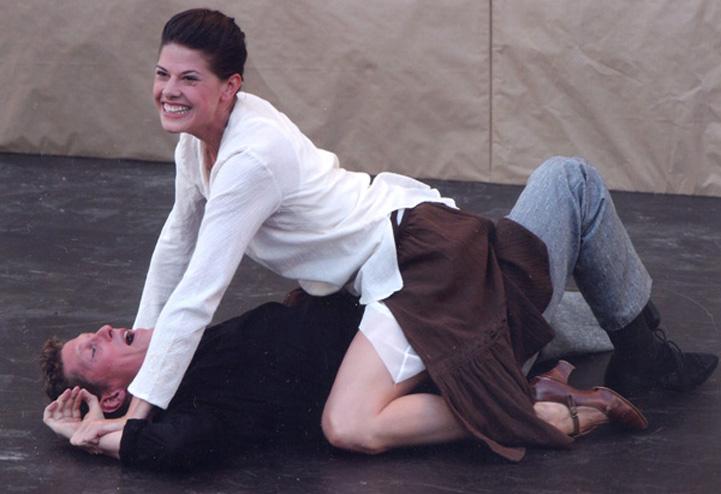 Domfestspiele Bad Gandersheim, 2003<br>Regie: Alfred Sieling<br>Mit Hans Hisleiter